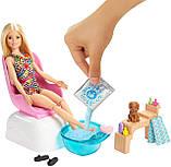Барби набор Салон маникюр и педикюр Barbie Mani-Pedi Spa, фото 3