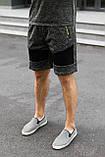 """Чоловічі темно-сірі шорти """"Original Design"""", фото 2"""
