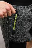 """Чоловічі темно-сірі шорти """"Original Design"""", фото 4"""
