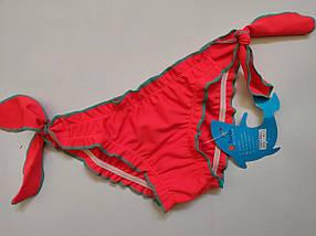 Плавки TERES для девочек Кристинка  155-3 красный (В НАЛИЧИИ ТОЛЬКО  24 26 28 размеры)