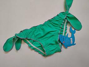 Плавки TERES для девочек Кристинка  155-3 мята (В НАЛИЧИИ ТОЛЬКО  24 26 28 размеры)