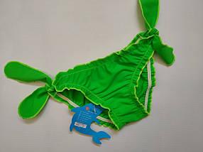 Плавки TERES для девочек Кристинка  155-3 зеленый (В НАЛИЧИИ ТОЛЬКО  24 26 28 размеры)