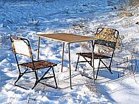"""Купить стол на природу со стульями, складная мебель туристическая """"Классический ФП1+2"""" для отдыха"""