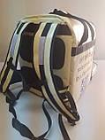 Термосумка для доставки їжі, суші. Рюкзак для піци, нижнє відділення 32*32. Каркасний. ПВХ, фото 8