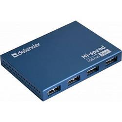 USB-хаб Defender Septima Slim (83505) Blue
