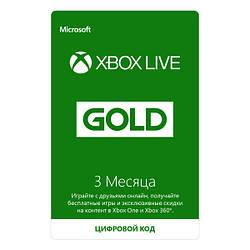 Підписка Xbox Live GOLD 3 місяці RU (Електронний ключ)