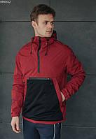 Анорак Staff Diler red & black красный/чёрный HH0352