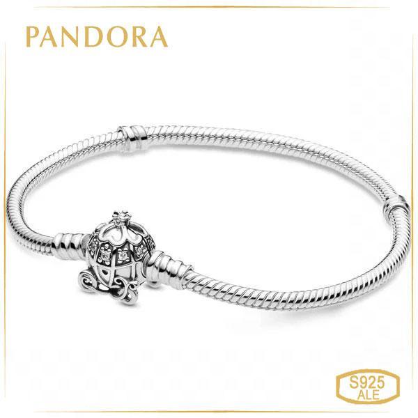 Пандора Браслет с застежкой Карета-Тыква для Золушки (17 см) Pandora 599190C01