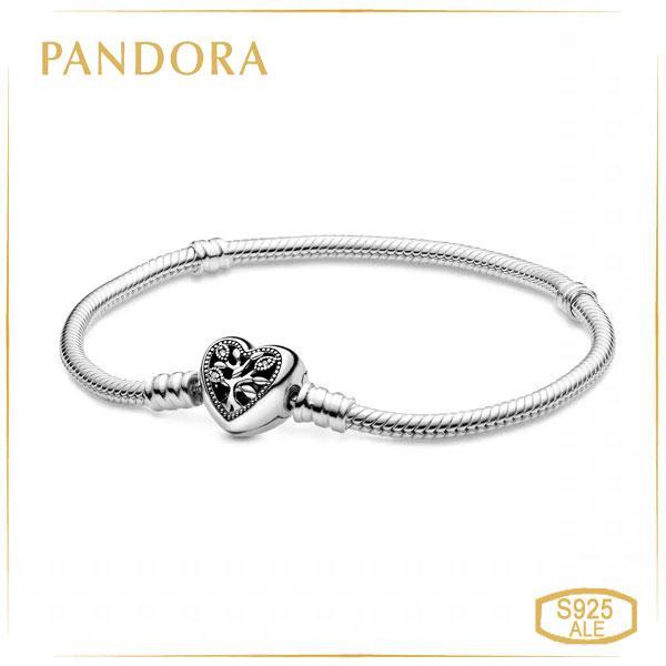 Пандора Браслет из серебра Семейное дерево (17 см) Pandora 598827C01
