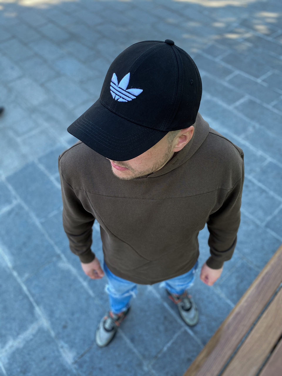 Чоловіча чорна Кепка Adidas