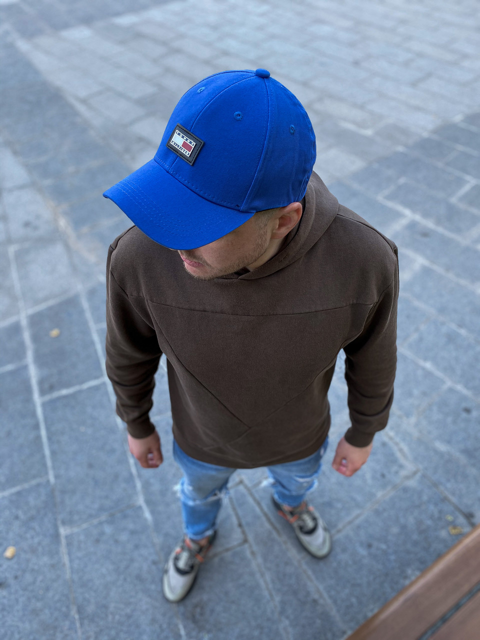 Мужская синяя Кепка Томми Хилфигер