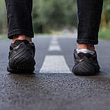 🔥 Кроссовки мужские Adidas Yeezy Boost 500 адидас изи буст черные повседневные спортивные Utility, фото 6