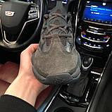 🔥 Кроссовки мужские Adidas Yeezy Boost 500 адидас изи буст черные повседневные спортивные Utility, фото 8