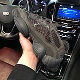 🔥 Кроссовки мужские Adidas Yeezy Boost 500 адидас изи буст черные повседневные спортивные Utility, фото 4