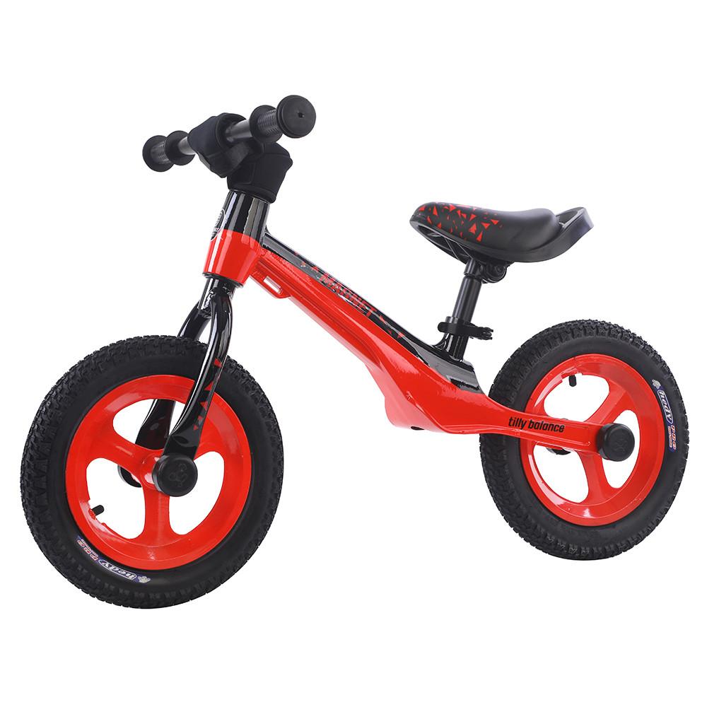 Дитячий Беговел RB-В001АЧ алюмінієвий 12-дюймові колеса