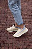 🔥 Кросівки жіночі Adidas Yeezy Boost 350 v2 linen адідас ізі буст бежеві повсякденні спортивні легкі, фото 6