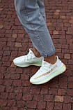🔥 Кросівки жіночі Adidas Yeezy Boost 350 v2 Hyperspace адідас ізі буст білі повсякденні спортивні легкі, фото 6