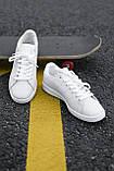 🔥 Кроссовки мужские Adidas Stan Smith адидас стен смит белые повседневные спортивные кожаные, фото 5