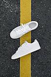 🔥 Кроссовки мужские Adidas Stan Smith адидас стен смит белые повседневные спортивные кожаные, фото 9