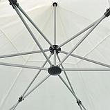 Альтанка шестикутна розкладна 3,6 м / 3 кольори, фото 6