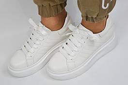 Кросівки Berkonty 82006 37 Білі шкіра