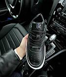 🔥 Кроссовки женские Nike Air Force Pixel найк эир форс пиксель черные повседневные спортивные кожаные, фото 5