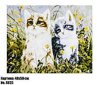 Картина по номерам КОТИКИ 6835 40 х 50 см