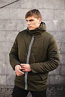 Мужская куртка демисезонная хаки