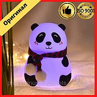 Детский ночник светильник силиконовый Панда LOSSO