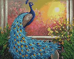 Алмазная мозаика 40*50 см Царская птица