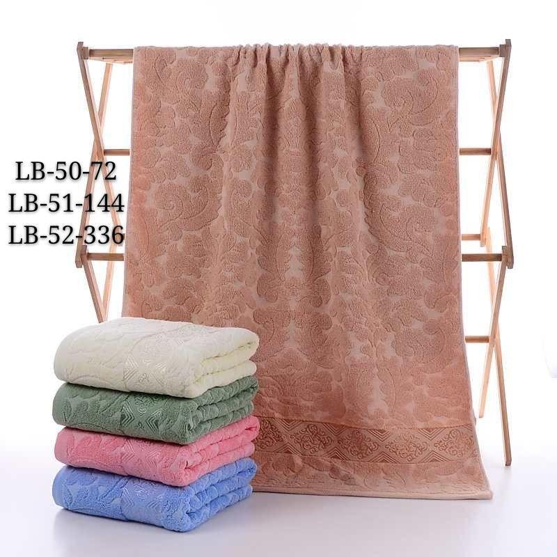 Полотенце лицевое махровое размер 50 на 100 см (от 6 шт)