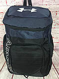 Мужской качественный рюкзак Under Armour. Спортивный рюкзак. Дорожный рюкзак РК20-2, фото 7