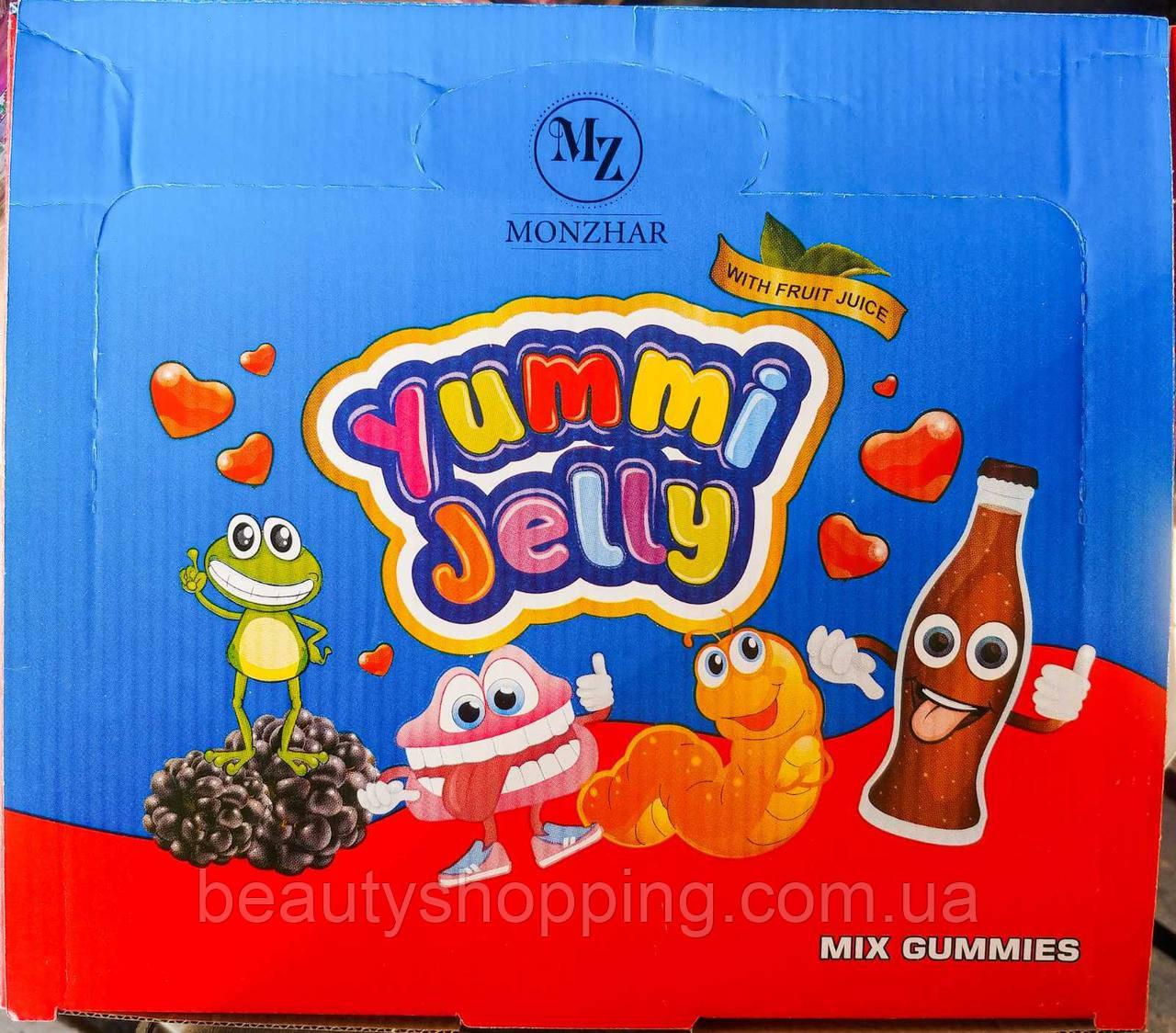 Jellopy Yummi Jelly Mix Gummies желейные конфеты микс вкусов 36штук 20g