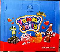 Jellopy Yummi Jelly Mix Gummies желейные конфеты микс вкусов 36штук 20g, фото 1