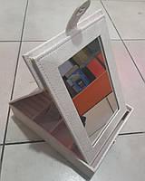 Шкатулка для украшений с зеркалом №29, фото 1