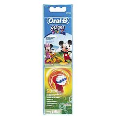 Насадка для електричної зубної щітки Oral-B EB10 Stages Power Mickey 2шт