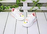 Модні білі кросівки для дівчаток, фото 2