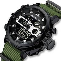 Часы мужские наручные спортивные MEGALITH PROF GREEN
