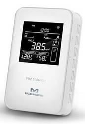 Розумний датчик MCO Home 3в1: PM2.5, темп., Волог., Z-Wave, 230V АС, білий