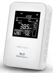Розумний датчик MCO Home 3в1: PM2.5, темп., Волог., Z-Wave, 12V DC, білий