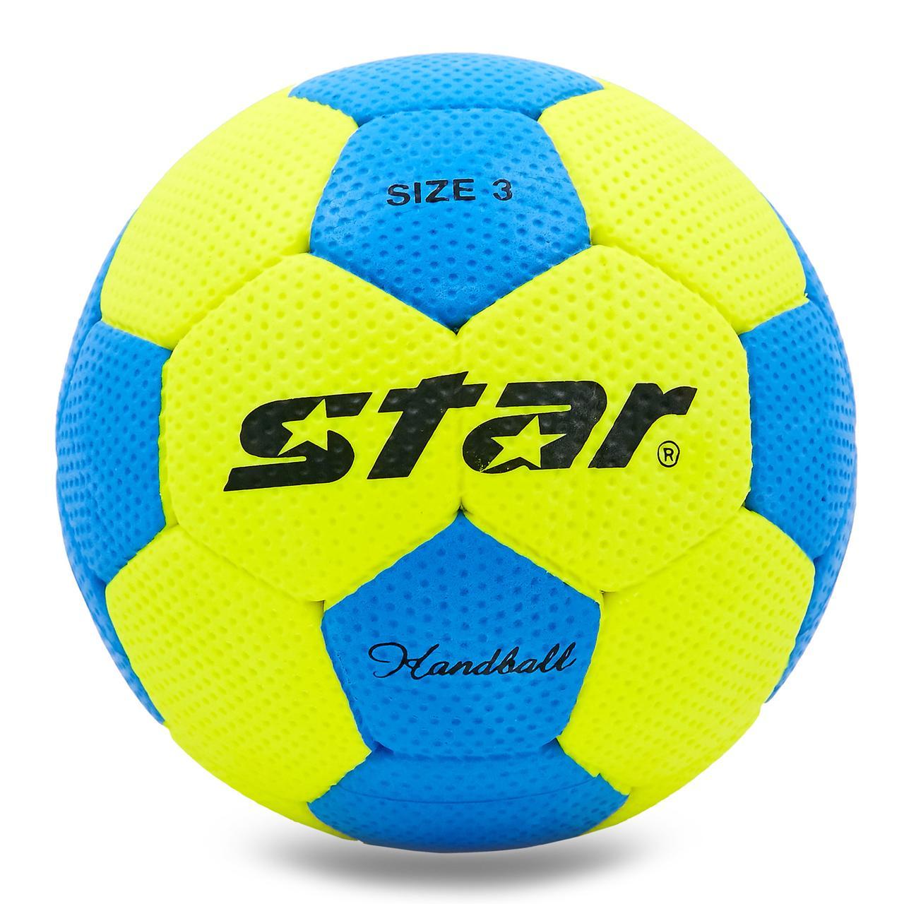 М'яч гандбольний Outdoor покриття спінена гума STAR №3 JMC03002