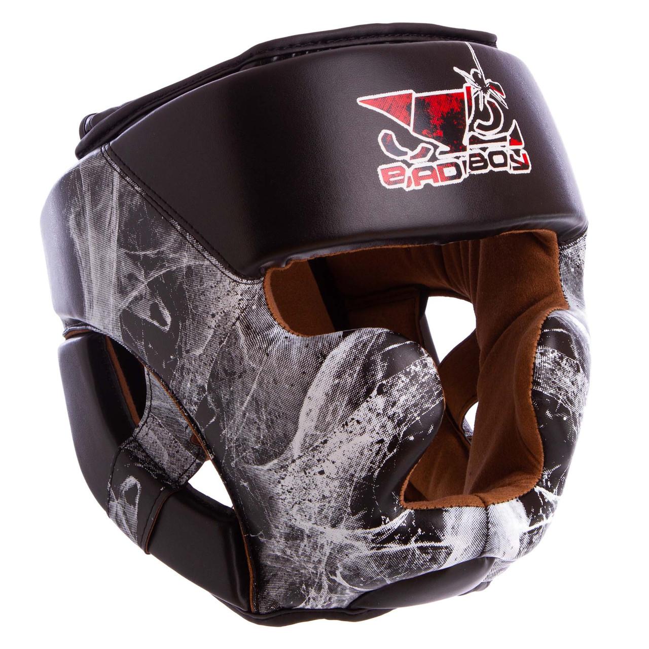 Шлем боксерский с полной защитой FLEX BDB SPIDER VL-6601