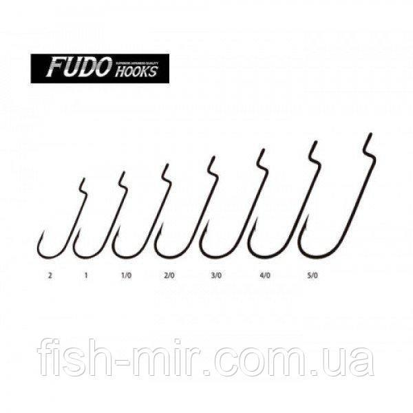 Крючки FUDO WORM 104 SF 2/0