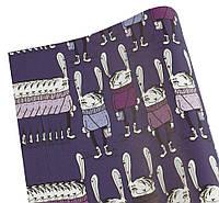 Бумага для упаковки подарков - модные зайцы, 10листов, PCZ10070-10-243