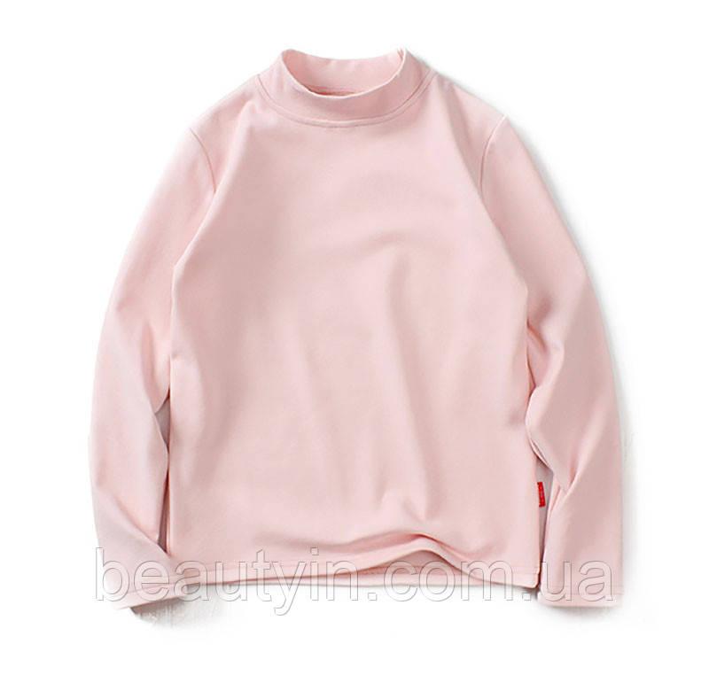 Лонгслив для девочки Розовый оттенок AKL