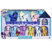 My Little Pony Набор май литл пони коллекция 10 штук Луна Селестия Каденс
