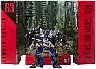 Трансформер Топспин 14см transformers studio series 63 Topspin Тёмная сторона Луны, фото 4