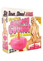 Надувна подушка з вібратором - Vibrating Ecstasy Lounge