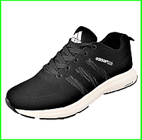 Кроссовки Adidas Neo Чёрные Адидас Мужские (размеры: 40,41,42,43,44) Видео Обзор