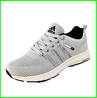 Кроссовки Adidas Neo Серые Адидас Мужские (размеры: 40,41,42,45) Видео Обзор